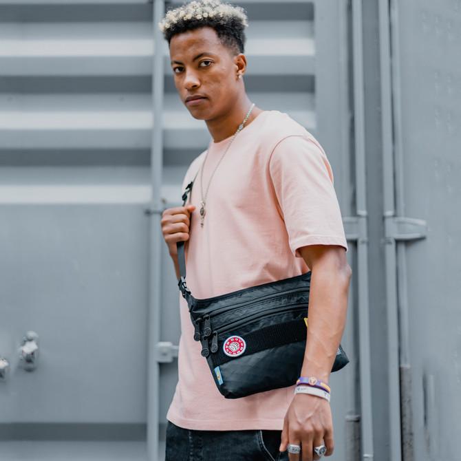 Rough Enough Slim Crossbody Over Shoulder Bag for Men Women