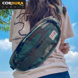 Camo Cordura Waist Pack