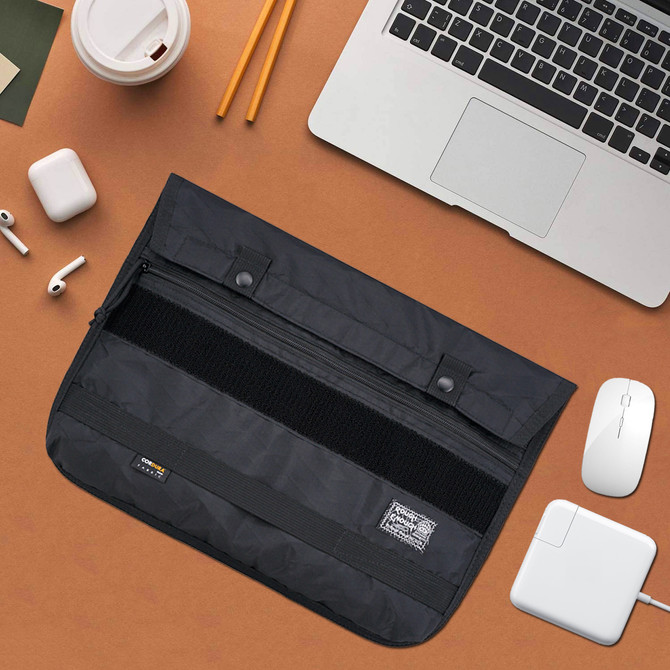 Rough Enough 13 14 Inch Laptop Bag Case Sleeve for Women Men EDC Bag Organizer Molle Pouch Laptop Ac