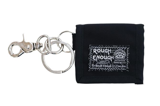 Rough Enough Durable CORDURA Polyester Mini Small Clip on Coin Purse Earphone Pouch FOB Key Holder C