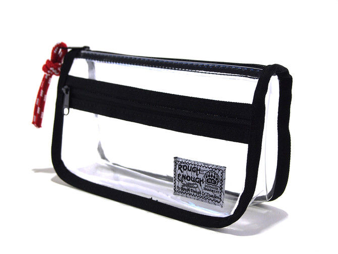 Rough Enough - A functional bag for every one! Can be used as clear small tool pouch, pencil bag, co