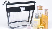 Rough Enough TSA Approved Transparent Clear Toiletry Bag Makeup Case Organizer Carry on Pouch Travel