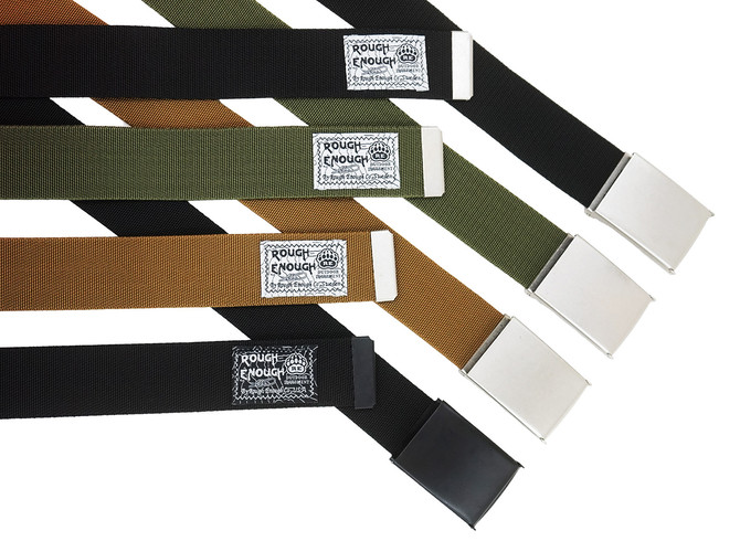 Rough Enough Classic Vintage Highly Durable Heavy Duty Elastic Nylon Webbing 1.5 x 54 inch 38mm long