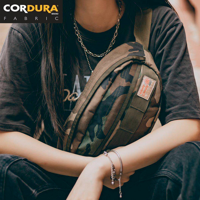 Rough Enough Tactical Fanny Pack Hunting Waist Pack Crossbody Sling Bag for Men Teen Boys Military C