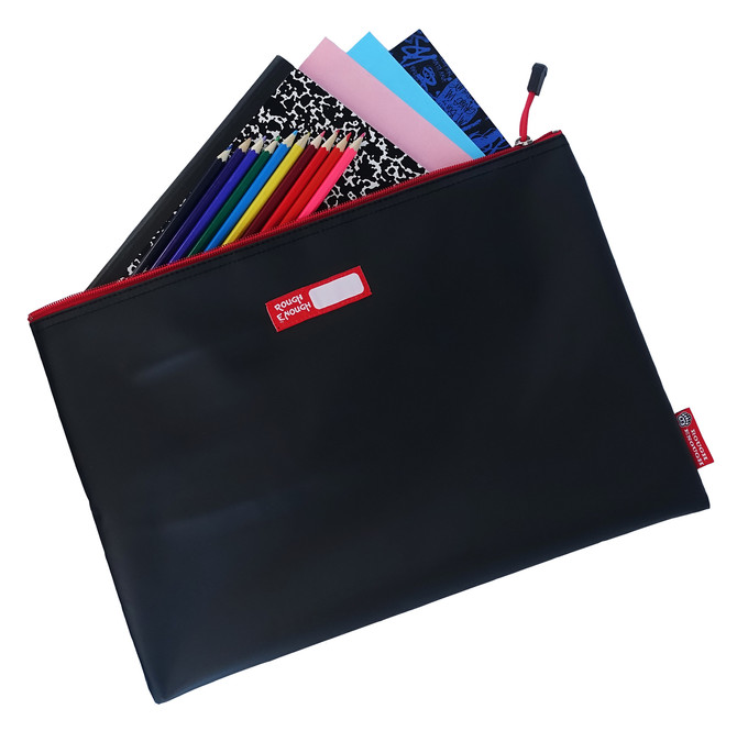Rough Enough Big Document File Folder Holder Organizer Bag Pouch A4 Paper Letter Manila Size Case La