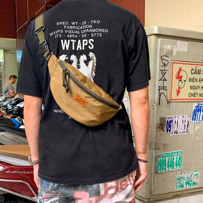 Rough Enough Fanny Tactical Hiking Running Waist Bag Belt Pack for Men Women Zipper Crossbody Should