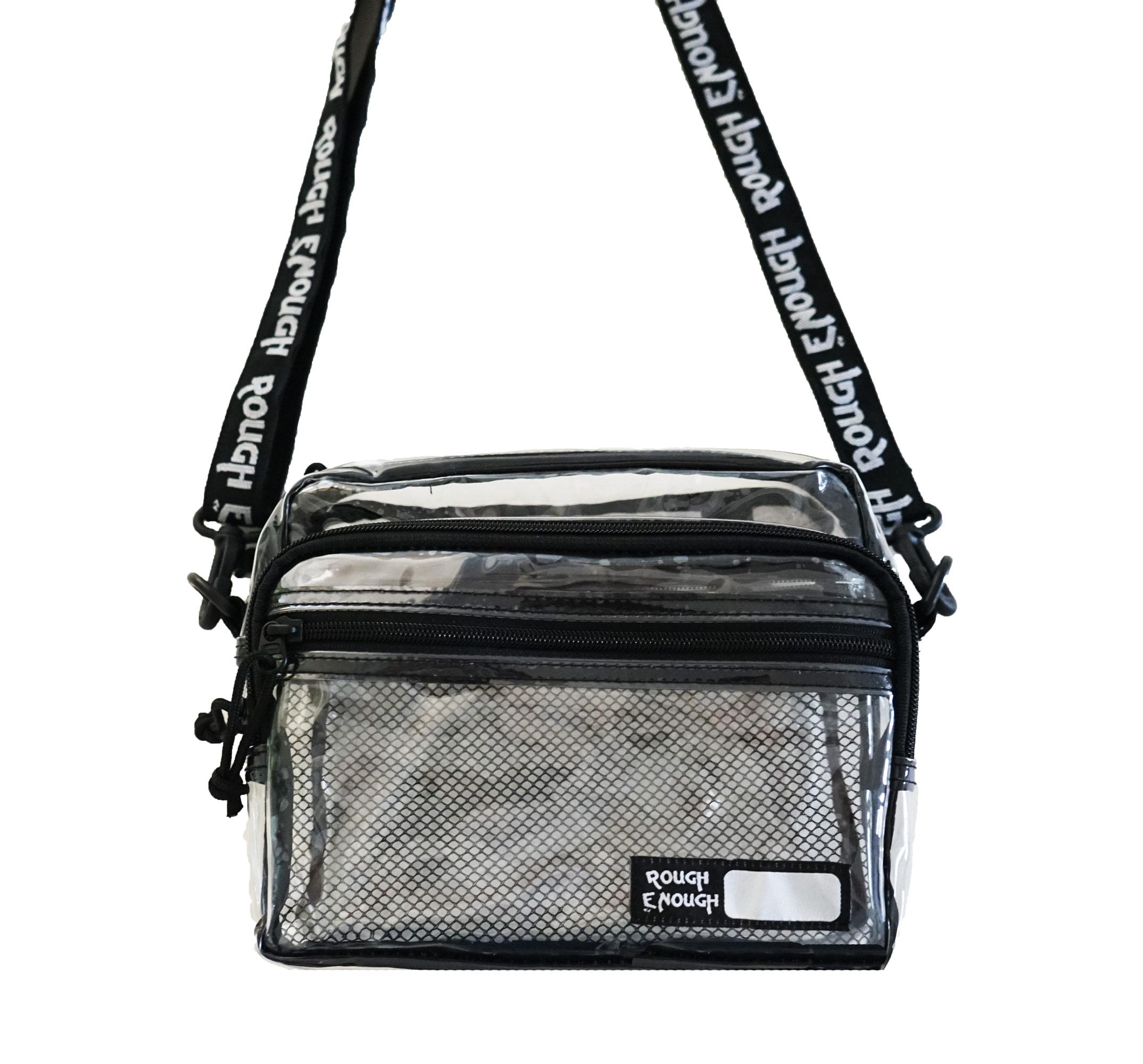 cafd0211945 Rough Enough TSA Transparent Fashion Crossbody Shoulder Streetwear ...