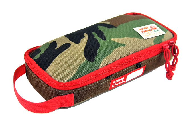 Rough Enough Multi-Function CORDURA Soft Polyester Portable Fashion Large Pencil Case Tools Pouch Ho