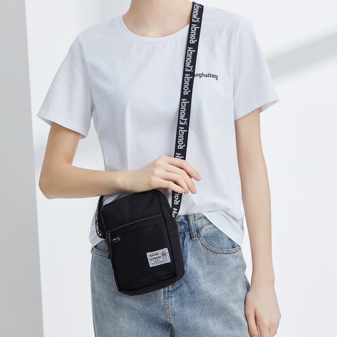 Rough Enough Small Crossbody Shoulder Messenger Bag Organizer Fanny Pack for Men Women School Boy Gi
