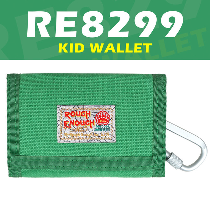 Rough Enough Kids Wallets for Teen Boys Girls with Keychain