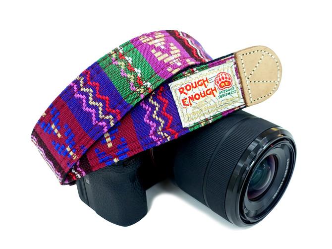 Rough Enough Vintage Shoulder Neck Strap Soft Security Multi Color Belt for Camera Camcorder Niko Ca