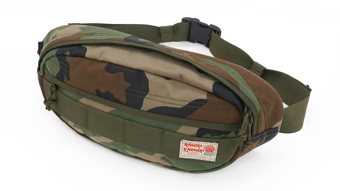 Rough Enough Multi-Function Military Casual Hiking Hunting Fashion Funny Body Waist Pack Bag with Sh