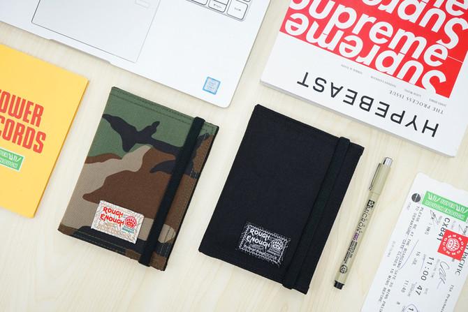 Rough Enough Passport Holder Cover Case Travel Wallet Purse Bag Pouch for Men Women Kids Teen Boy Gi