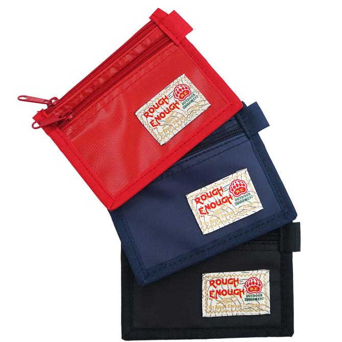 Rough Enough Fancy Fashion Simple Durable Tarpaulin Mini Small Thin Portable Credit Card Coin Purse