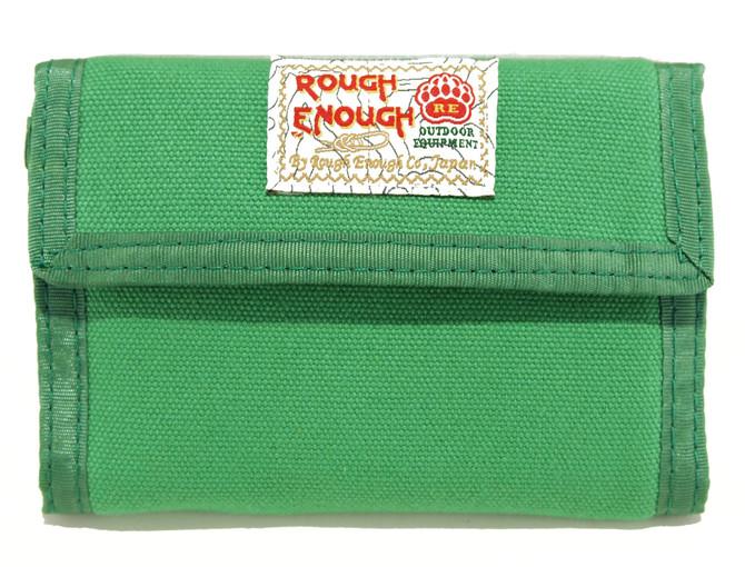 Rough Enough Vintage Canvas Wallet Purse Holder Zipper Coin Pocket for Men Kids