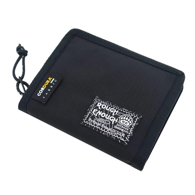 Rough Enough Cordura Urban Classic Casual Outdoor Sport Bifold Portable Credit Debit ID Card Case Ho
