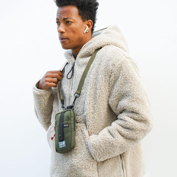 Rough Enough Small Cell Phone Purse Crossbody Bag for Men Tactical Shoulder Bag Pouch