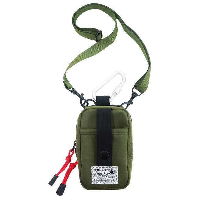 Rough Enough Military Vintage Durable Multifunction Mini Crossbody Purse Small Shoulder Bag Credit C