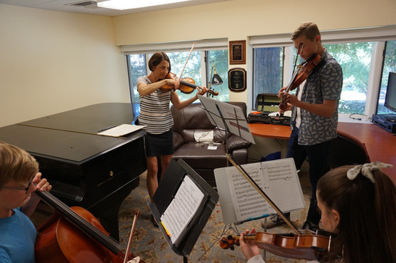 String trio coaching