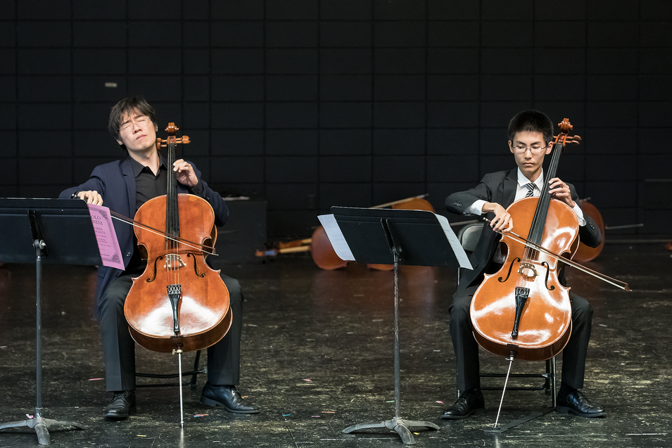 Cello honors duo WAYA 2019