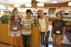 WAYA Students in cafeteria