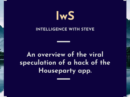 An overview of the viral speculation of a hack of the Houseparty app.