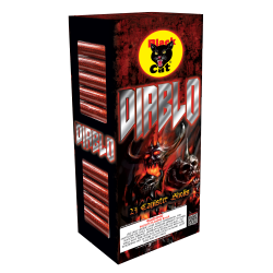 Diablo Black Cat 24 Pack Shells
