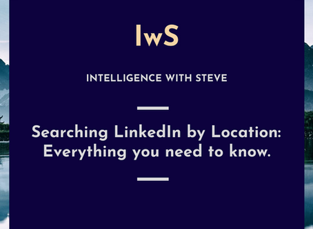 Searching LinkedIn by Location: Everything you need to know.