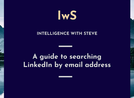 A guide to searching LinkedIn by email address