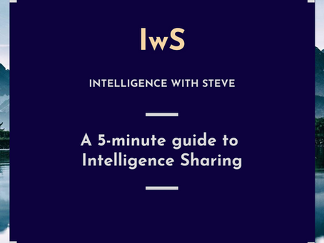 A 5-minute guide to Intelligence Sharing