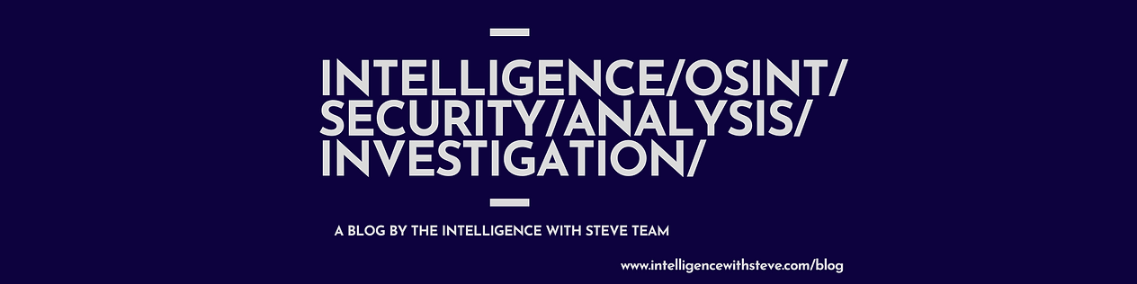 Blog by the Intelligence with Steve Team