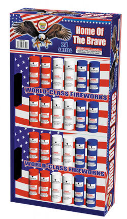 Home of the Brave 24 Pack Shells