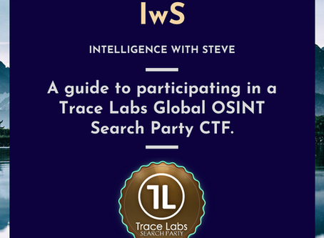 A guide to participating in a Trace Labs Global OSINT Search Party CTF.