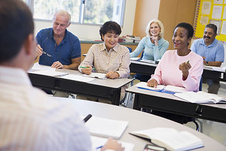 bigstock-Adult-Students-In-Class-With-T-