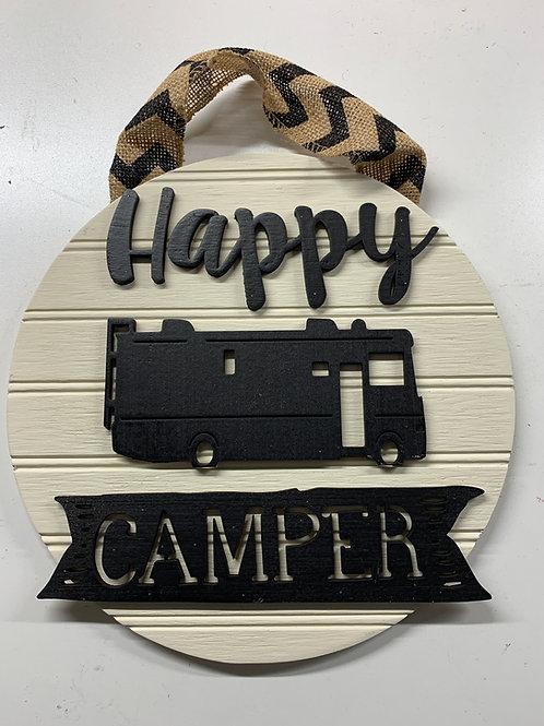 Small Happy Camper Sign