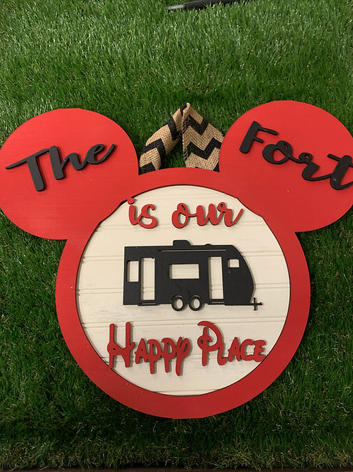 Disney Camper Sign