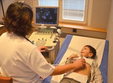 Pädiatrie-Ultraschall