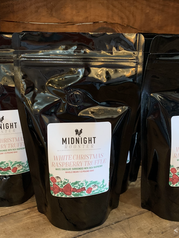 Custom Coffee Labels for Midnight Rooster