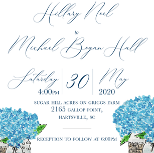 wedding invite 2020