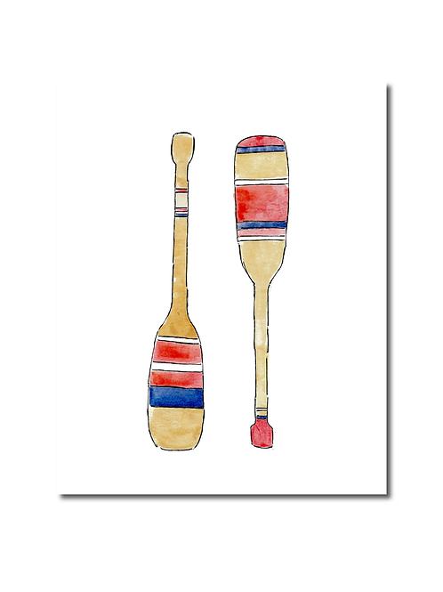 Oars Print