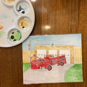 Landmark Gift Watercolor