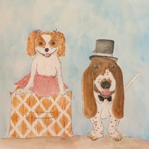 Pet Portrait Watercolor