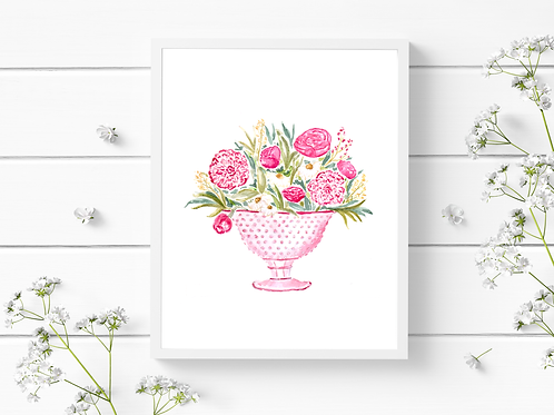 Pink Spring Florals