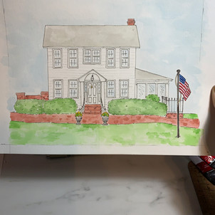 Home watercolor
