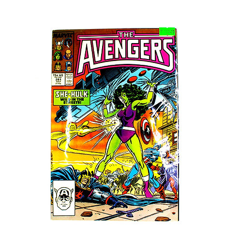 THE AVENGERS NO. 281 JULY