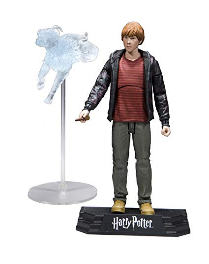 HARRY POTTER SERIES 1: 7-INCH ACTION FIGURE  - RON WEASLEY