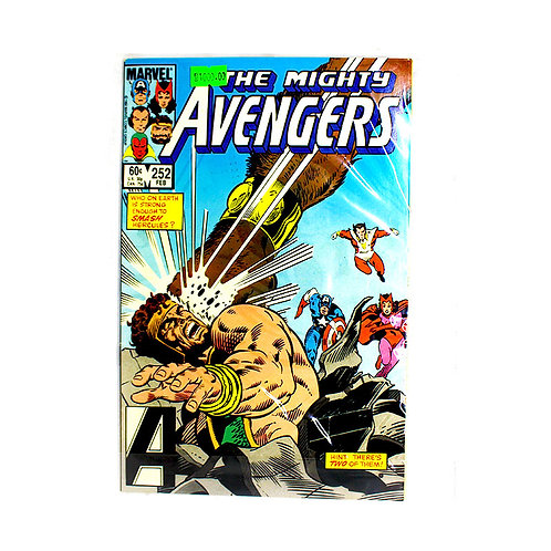 THE MIGHTY AVENGERS NO 252 FEB