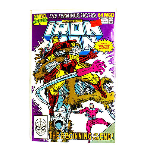 IRON MAN NO.11 ANNUAL 1990