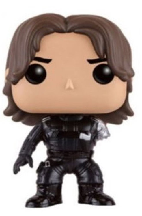 FUNKO POP! MARVEL WINTER SOLDIER EXCLUSIVE VINYL BOBBLE HEAD #168