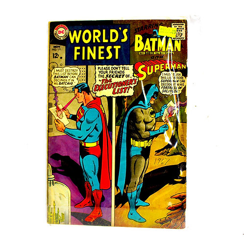 WORLDS FINEST NO. 171 NOV